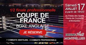 Samedi 17 juillet 2021, demie finale de la coupe de France professionnel